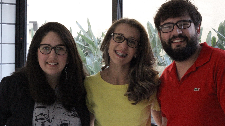 Débora, Liana e Sérgio