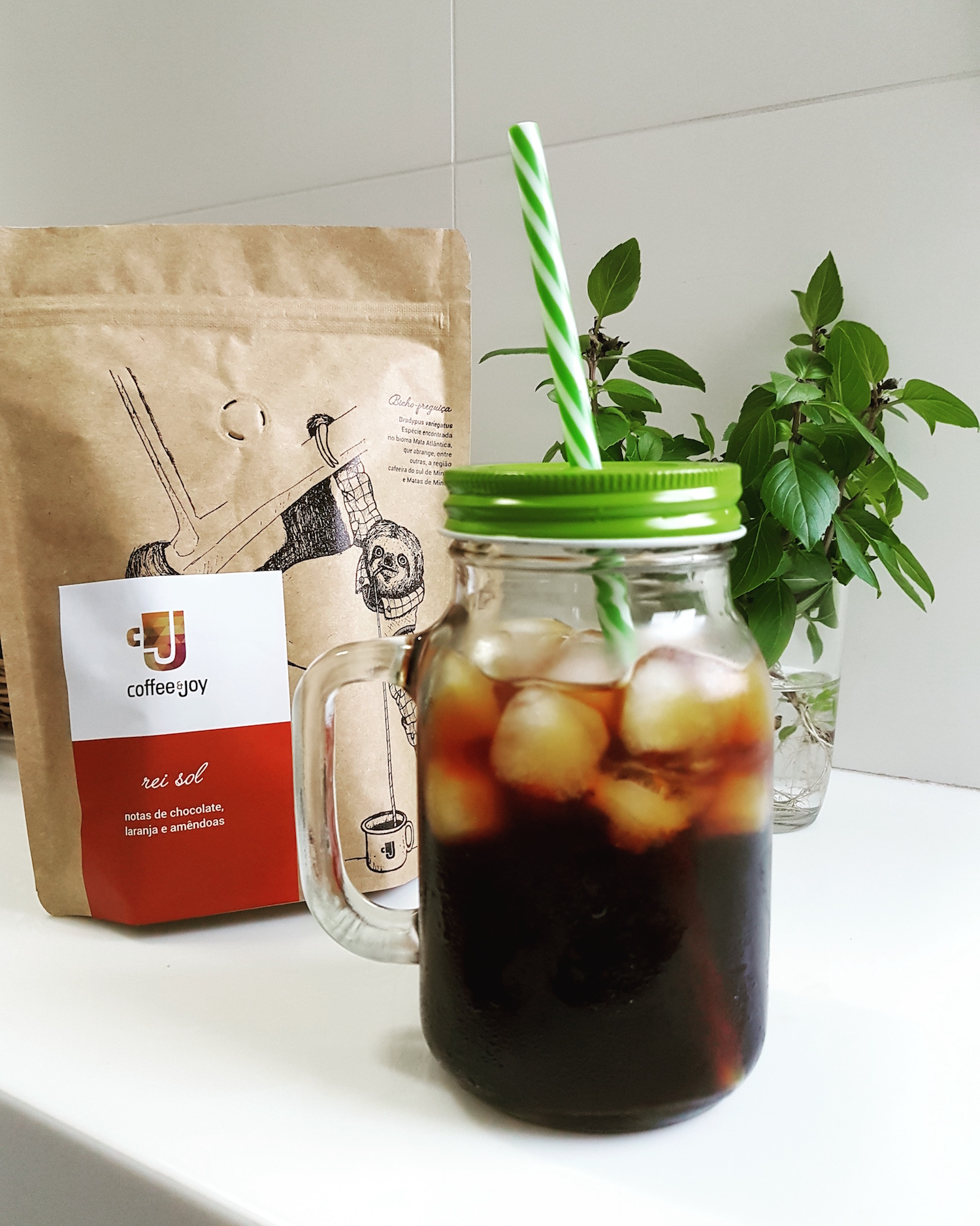 Coffeeandjoy - receita cold brew