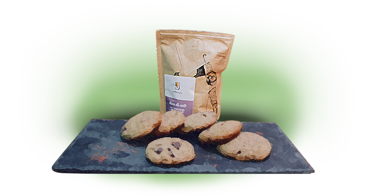 Receita de Cookie Low Carb de Café, Pasta de Amendoim e Chocolate 70% Cacau