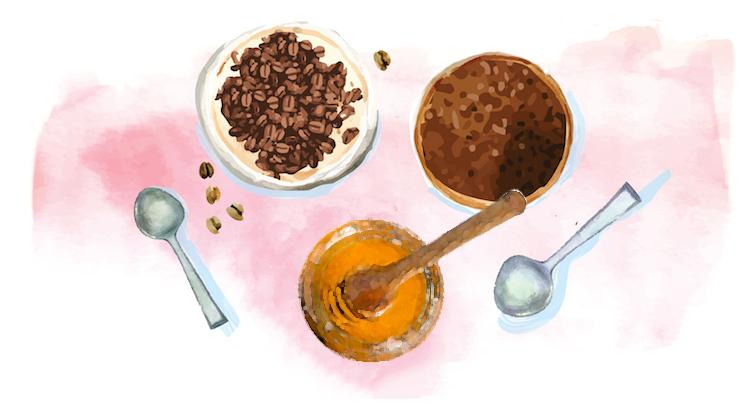 Benefícios e Receita do Esfoliante Caseiro com Borra de Café