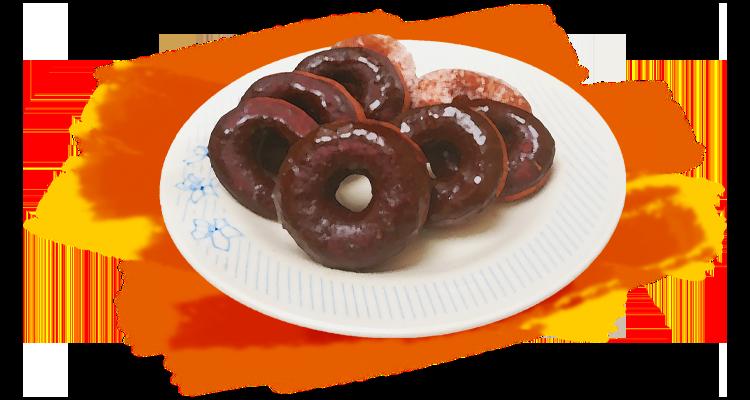 Receita de Donut com Cobertura de Chocolate e Café