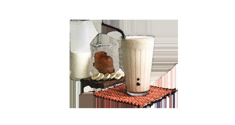 Receita Rápida, Fácil e Gostosa de Vitamina de Banana com Café