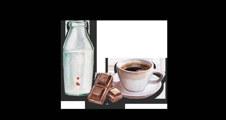 Receita de Café com Leite e Chocolate Derretido – Fácil, Prática, Gostosa e Diferente