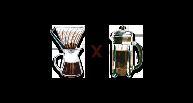 Qual a Diferença do Café Feito na Prensa Francesa e no Filtro de Papel?