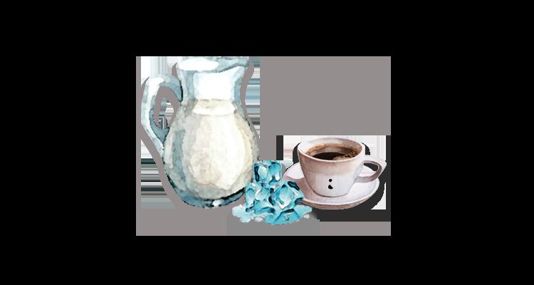 Receita de Café Gelado com Leite Cremoso
