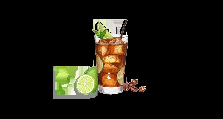 Receita de Gin Coffee Lemonade – Drink Refrescante com Café, Gin e Limonada