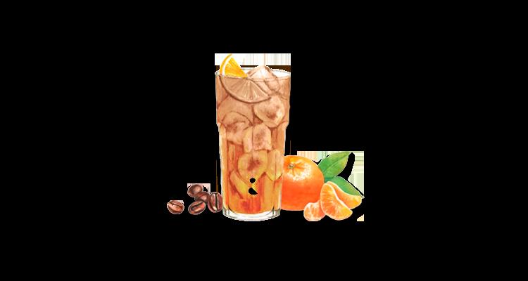 Receita de Gin com Café e Tangerina – Drink Perfeito para Quem Ama Café e Frutas Tropicais