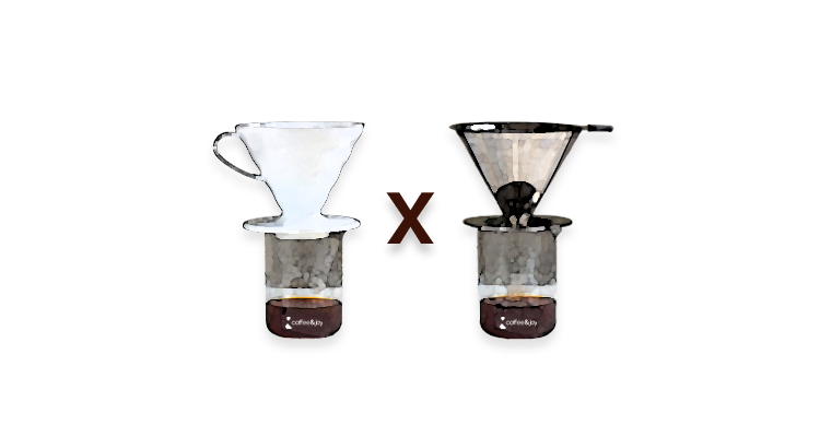 Qual a Diferença do Café Feito no Coador com Filtro de Papel e no Coador com Filtro de Inox?
