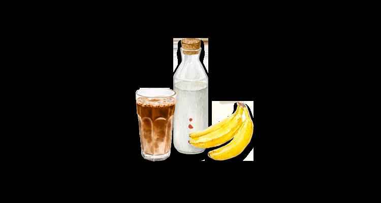 Receita de Vitamina de Banana com Café – para o Café da Manhã, Café da Tarde ou Pré Treino