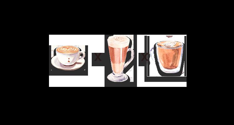 Qual a Diferença entre Cappuccino, Caffè Latte e Flat White?