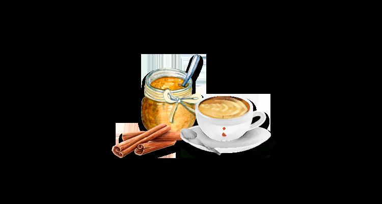 Receita de Café Cremoso com Gosto de Churros