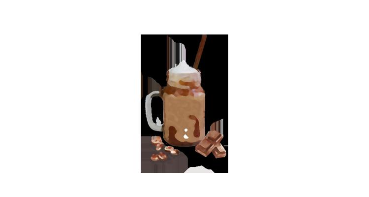 Receita Rápida de Café Cremoso com Chocolate